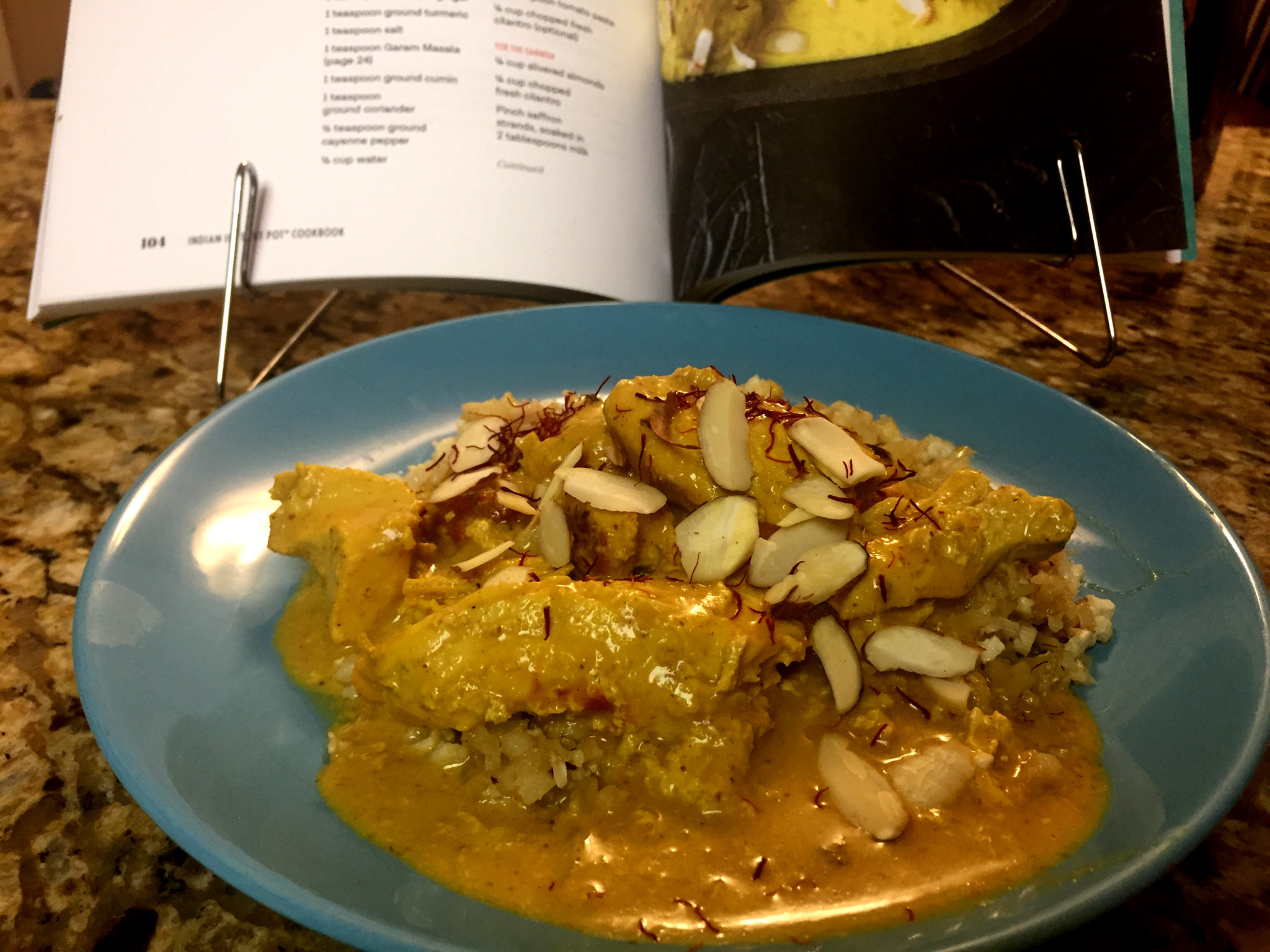 Chicken korma instant pot recipe carolyn creates chicken korma always sounded scary to make actually any indian food sounds scary with all the spices involved but really it is not forumfinder Image collections